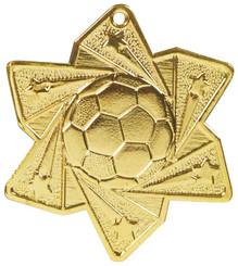 Football Star Medal (60mm) - TW18-034-MD053G