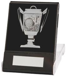 Cup Design Golf Medal in Presentation Case - TW18-170-210B - Silver