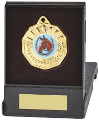 50mm Decagon Medal in Case - TW18-126-632B
