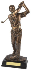 "Gold Figure Men's Golf Award - TW18-159-RS126 - 21.5cm (8 1/2"")"