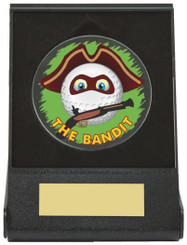 Black Case Golf Collectable - Bandit - TW18-168-673ZAP - Dia 60mm