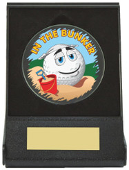 Black Case Golf Collectable - Bunker - TW18-168-674ZAP - Dia 60mm