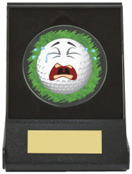 Black Case Golf Collectable - Crying - TW18-168-668ZAP - Dia 60mm