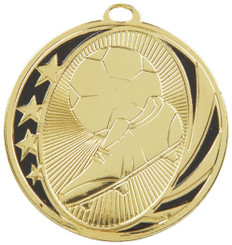 50mm Boot & Ball Football Medal - TW18-036-MD019G