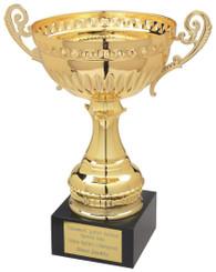 """Gold Trophy Cup - TW18-054-069C - 22cm (8 3/4"""")"""