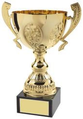 """Gold Trophy Cup - TW18-055-556D - 26cm (10 1/4"""")"""