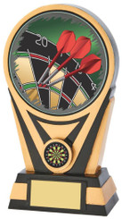 "Black Gold Darts Resin holder - TW18-073-780ZCP - 15cm (6"")"