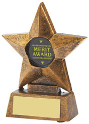 "Resin Star Award - TW18-109-T.9243 - 10cm (4"")"