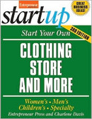 Start Your Own Clothing Store and More 0362PB