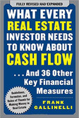 What Every Real Estate Investor Needs to Know about Cash Flow. 1748PB