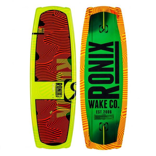 RONIX VAULT JR. YELLOW BLACK WAKEBOARD BLANK (2017)