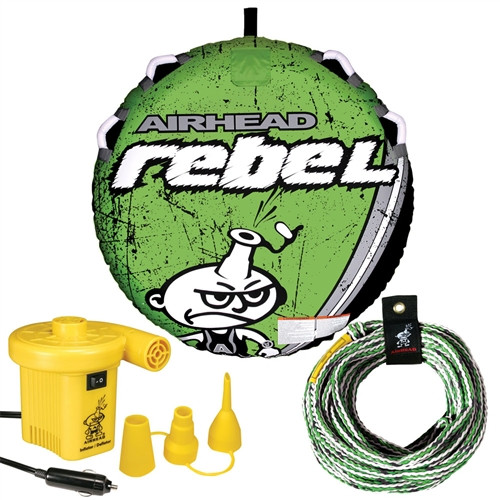 AIRHEAD REBEL TUBE + PUMP AND ROPE (2017)