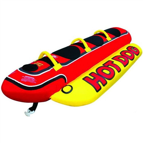 AIRHEAD HOT DOG WEENIE 3 RIDER TUBE (2017)