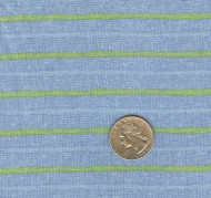 "Avlyn ""Sweet Baby Stripe"" Blue Yardage"