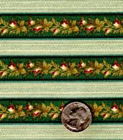 "Blue Hill Fabrics ""The Yorktown Collection Circa 1850"" Green Stripe"
