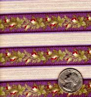 "Blue Hill Fabrics ""The Yorktown Collection Circa 1850"" Purple Stripe"