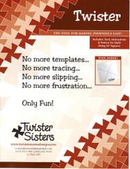 """""""Twister"""" Pinwheel Ruler"""