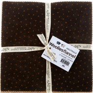 "Maywood Studios ""Woolies Flannel-Neutrals"" 10"" Layer Cake"