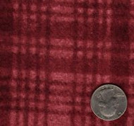 """Maywood Studios """"Woolies Flannel"""" Large Plaid Red"""
