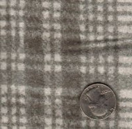 "Maywood Studios ""Woolies Flannel"" Large Plaid Gray"