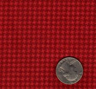 "Maywood Studios ""Woolies Flannel"" Mini Hounds Tooth Red"