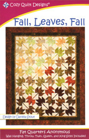 """Fall, Leaves, Fall"" Quilt Kit"