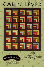 "Maywood Studios Woolies Flannel ""Cabin Fever"" Quilt Kit"