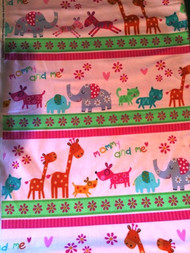 "Newcastle Fabrics ""Mommy & Me"" Pink Stripe"
