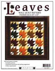 """Rachel's of Greenfield """"Leaves"""" Wall Quilt Pattern"""