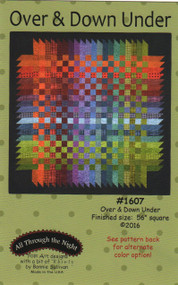 """All Through the Night """"Over & Down Under"""" Quilt Pattern"""