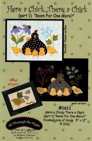 """All Through the Night """"Here a Chick, There a Chick""""  Part 1 Pattern"""