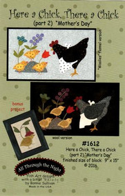 """Through the Night """"Here a Chick, There a Chick"""" Part 2 Pattern"""