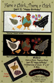 """All Through the Night """"Here a Chick, There a Chick""""  Part 3 Pattern"""