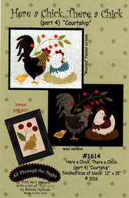 """All Through the Night """"Here a Chick, There a Chick""""  Part 4 Pattern"""