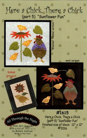 """All Through the Night """"Here a Chick, There a Chick""""  Part 5 Pattern"""