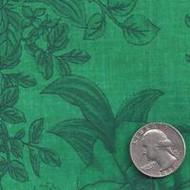 """108"""" Green Floral Blender"""