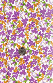 "Blue Hill Fabrics ""Toy Box IV"" Purple & Yellow 30's"