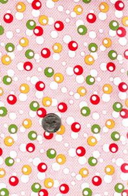 "Blue Hill Fabrics ""Toy Box IV"" Red 30's"