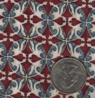 """Maywood Studios """"Memories of Provence"""" Red & Blue"""
