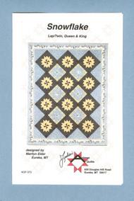 """Snowflake"" Quilt Pattern"