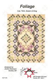 """Foliage"" Quilt Pattern"