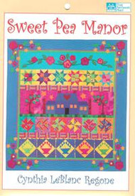 """""""Sweet Pea Manor"""" Quilt Pattern"""