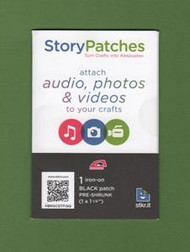 "Audio, Photo or Video ""Iron-On"" Story Patch"