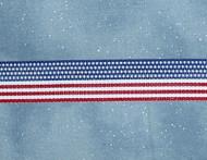 American Flag Grosgain Ribbon
