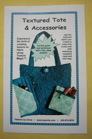 """""""Textured Tote"""" & Accessories Pattern"""