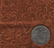 """Red Rooster """"Elm Creek Quilts"""" Brown"""