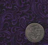 """Red Rooster """"Elm Creek Quilts"""" Purple"""