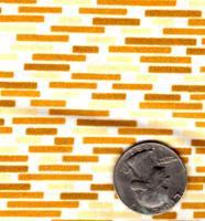 """Springs Industries """"Bricks"""" Yellow"""