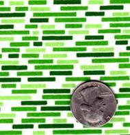 """Springs Industries """"Brick"""" Green"""