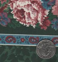 V.I.P. Fabrics CRAFT COTTON Green Stripe